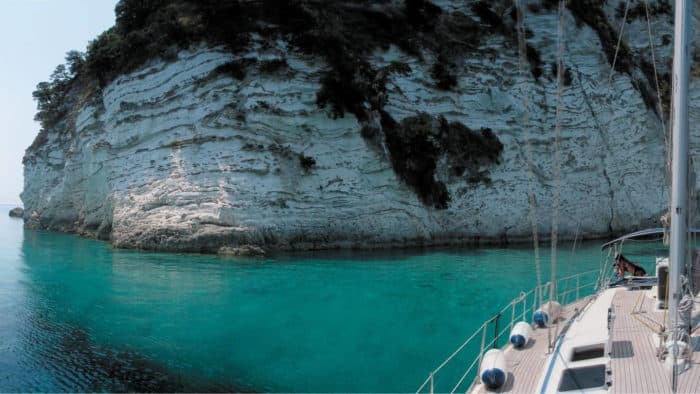 sail ionian yacht charters hire a bare boat or skippered from lefkada