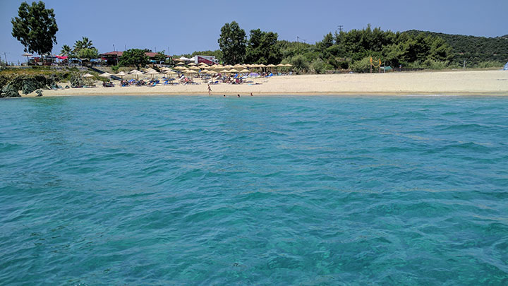 Sailing holidays to Halkidiki