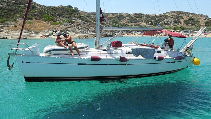 Halkidiki sailing boat day trips the best summertime activity