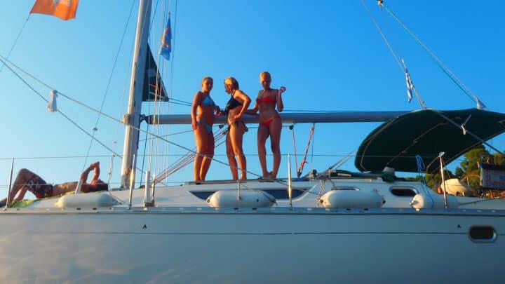 Halkidiki sailing boat day trips
